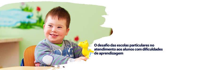 foto da notícia O desafio das escolas particulares no atendimento aos alunos com dificuldades de aprendizagem